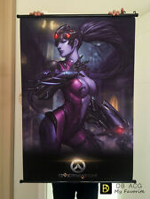 Blizzard Game Overwatch Reaper Home Decor Poster Cool Widowmaker Wall Scroll