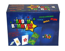New In Box! Random Rummy 12 *A New Kind of Rummy* - Fun Playing Card Game/Games