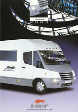 Prospekt Laika ecovip h 600 viaje mobil 2003 integra caravana motorhome
