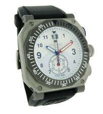 Zodiac ZO8501 ZMX 01 Men's Analog Date Compass Three Bezel Chronograph Watch