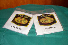"""SET OF 2 NEW OATMEAL BREAD COVERS CLOTHS TO CROSS STITCH 18"""" X18"""" 14 COUNT"""