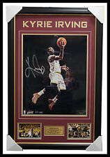 Kyrie Irving Signed Cleveland Cavaliers Photo Collage Framed 2016 NBA Champions