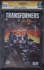 THE TRANSFORMERS #45 CGC SS 9.8 • SIGNED: PETER CULLEN & FRANK WELKER • VARIANT