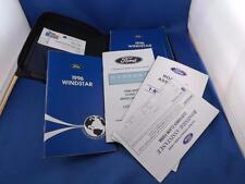 FORD 1996 WINDSTAR VAN OWNERS MANUAL MAINTENANCE SCHEDULE WARRANTY INFORMATION