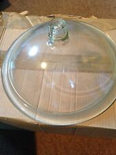 Cover for vacuum pattern desiccator borosilicate glass 250mm diameter - 2121/A25