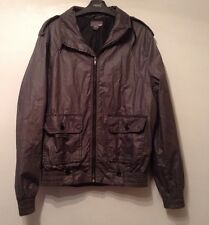 Men's H&M Jacket / Coat Size EUR 48 ( Medium) Dark Grey Water repellent Hooded