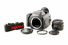 """Pentax 645Nll w/ A 645 75mm F/2.8 Lens w/ 120 Film Back """"EXC++"""" From TOKYO JAPAN"""