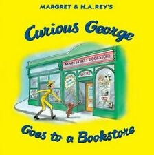 CURIOUS GEORGE GOES TO A BOOKSTORE (9780544320734) - H.A. REY (HARDCOVER) NEW