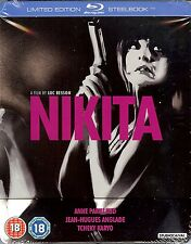 NIKITA Limited Edition SteelBook Blu-ray (Region B UK Import Blu-ray) - New!