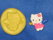 Angel Hello Kitty Push Mold Food Safe Silicone #812 Cake Chocolate Resin Clay
