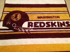 Vintage WASHINGTON REDSKINS blanket by San Marcos in Mexico