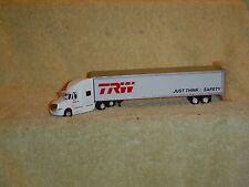"""TONKIN 1/87th IHC PROSTAR TRAC / 53' TRAILER,"""" T R W """""""