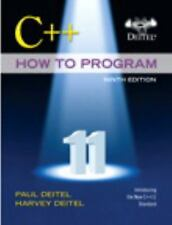 FAST SHIP - PAUL DEITEL 9e C++ How to Program                                Z45