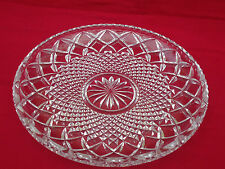 Lovely Vintage Anchor Hocking 'Wexford' Crystal Dessert Cake Plate
