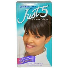 Just 5 Minute Colorant Natural Rich Black (Pack of 12)