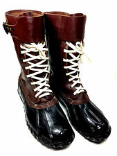 Dominion Rubber Company Vintage Winter Rain  Boots Size 12 US.