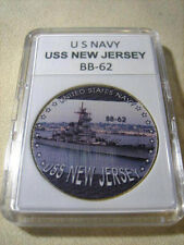 US NAVY - USS NEW JERSEY / BB-62 Commemorative Challenge Coin