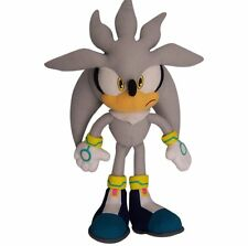 "Great Eastern GE-8960 Sonic The Hedgehog 13"" Plush Doll, Silver, New"