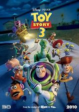 Toy Story 3 Movie Poster Flexible Fridge Magnet