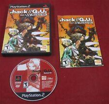 PS2: Hack // G.U. Vol.1 //  Rebirth - Hack GU