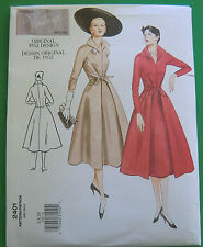VOGUE Sewing Pattern 2401 Vintage Design Ladies Womens Clothing Dress Sz 6-10