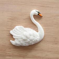 Stampo in Silicone Cigno Swan Animale Accessori Decoro Fondente Dolce Torta