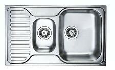 Einbauspüle Küchenspüle 80cm TEKA Princess 1 1/2C Edelstahl Spüle Becken Einbau
