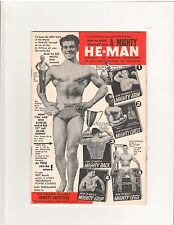 George F. Jowett How To Mold Yourself Into A HE-MAN Muscle Booklet 1930s