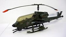 G.I. JOE DRAGONFLY HELICOPTER Vintage Figure Vehicle COMPLETE & WORKS 1983