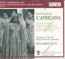 ██ OPER ║ Giacomo Meyerbeer (*1791) ║ L'AFRICAINE ║ Jessye Norman ║ 3CD