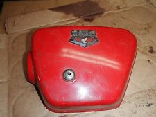 HONDA-68? 73?-CB-350-CB350-LEFT-SIDE-COVER-PLASTIC-PANEL WITH EMBLEM OEM