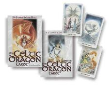 The Celtic Dragon Tarot Kit [With Tarot Cards] by D.J. Conway Paperback Book (En