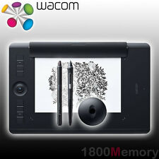 Wacom Intuos Professional Pro Pen 2 Bluetooth Medium Tablet PTH-660 w/ Paper Kit