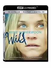 WILD (Reese Witherspoon) (4K ULTRA HD)- Blu Ray - Sealed Region free