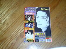 MICHAEL JACKSON -KING OF POP MAGAZINE-1997 TOUR SPECIAL-COLLECTORS EDITION