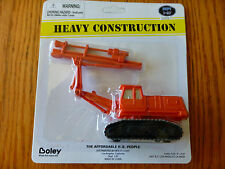 Boley HO #185-23037 Rock Drill on Tracked Crawler Chassis -- Orange
