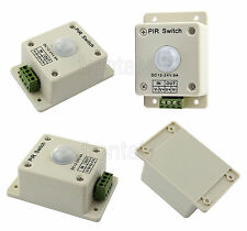 Hot DC 12V-24V 8A Automatic Infrared PIR Motion Sensor Switch For lighting light