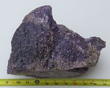 16.5 Lbs Purple Lepidolite Rough Lapidary Cabbing Specimen from California AAA+