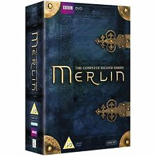 Merlin - Complete BBC Series 2 And Exclusive Extras 6 Disc Box Set DVD