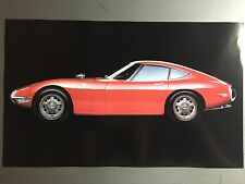 1967 Toyota 2000 GT Coupe Picture, Print, Poster RARE!! Awesome L@@K