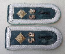 original  Paar Schulterklappen Feldwebel Gebirgsjäger Regiment 85