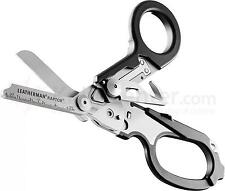 LEATHERMAN Raptor nero MANIGLIA Medical CESOIE FORBICI / Multi-Tool con fondina