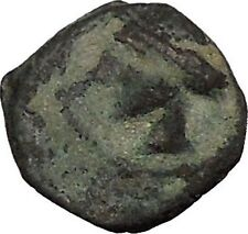 CARTHAGO NOVA in PUNIC SPAIN 237BC Tanit Carthage Helmet Greek Coin i52346