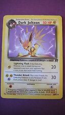 POKEMON CARD DARK JOLTEON STAGE 1  38/82 L@@K ROCKET MINT CONDITION