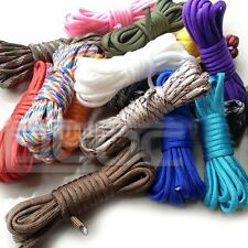 550 Paracord Parachute Cord 7Core Strand Nylon Survival Outdoor 50FT PINK