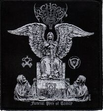 Archgoat Funeral Trinity Patch Official Black Metal Band Merch New