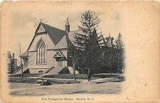 C14/ Roselle New Jersey NJ Postcard 1915 First Presbyterian Church Building