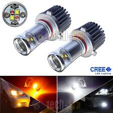 Color Switchable White/Amber 20W CREE 9005 9006 LED Bulbs For Fog Lights or DRL