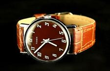 VINTAGE MENS TIMEX WATCH WITH HAND-WIND MECHANICAL MOVEMENT