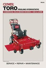 NEW - Toro Proline Hydrostatic: Commercial Walk-Behind Mowers, 1990 & Later